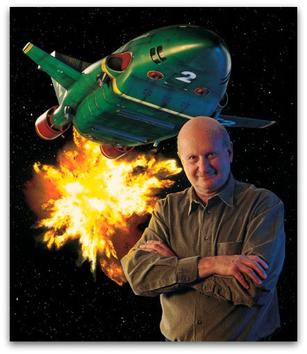 RIP Gerry Anderson .. had a massive impact on me as a kid.. one of the industries greatest innovators.