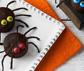 Halloween Spider Brownies