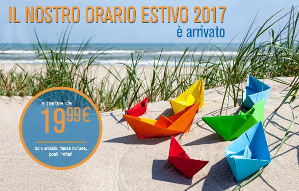 L'orario estivo 2017 è ora disponibile | Blue Air