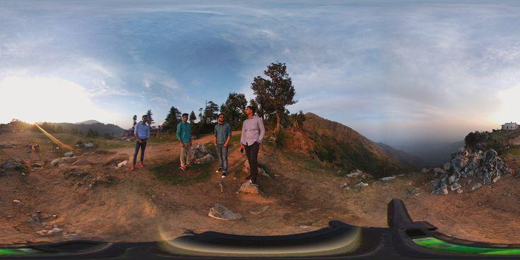 360° Photo! @George Everest Peak, Mussoorie, UK