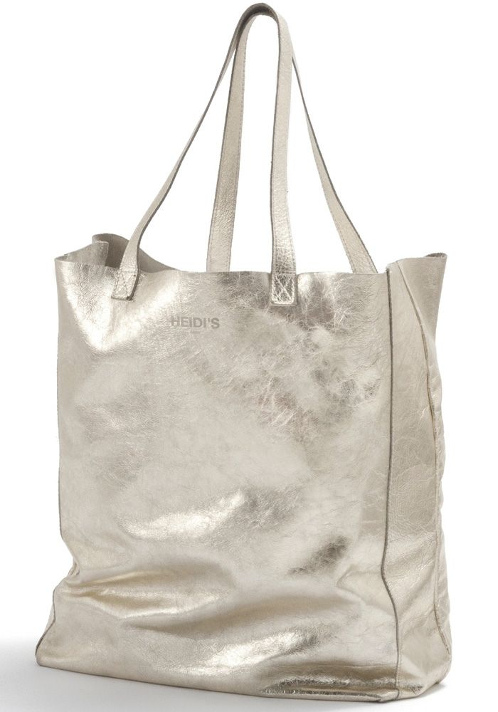 Must-have Leather shopper bag - Gold — Bodie and Fou - Award-winning inspiring concept store