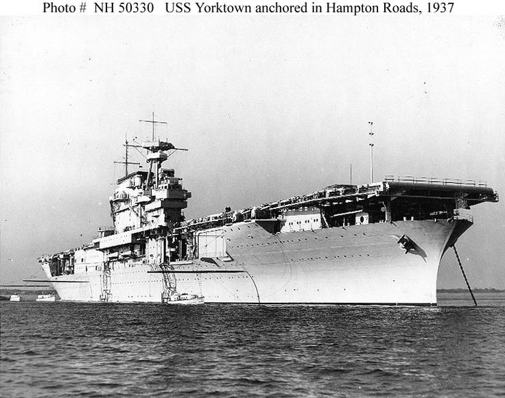 USS Yorktown (CV-5). heavily damaged during the battle of Coral Sea and limped back to Pearl Harbor for repairs. Crews swarmed her decks in dry dock and had her seaworthy in 72 hours. She joined Enterprise and Hornet northeast of Midway.