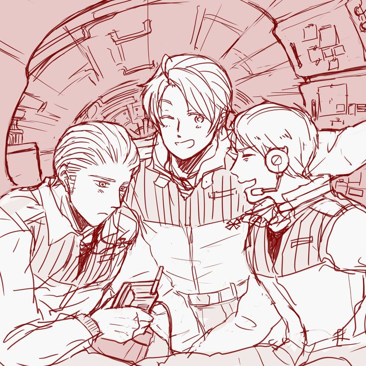 I love this so much. Prussia looks like he's having a good time XD