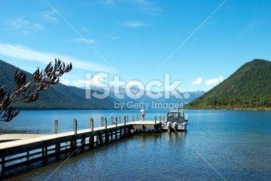 Lake Rotoroa, Nelson Lakes National Park, New Zealand Royalty Free Stock Photo