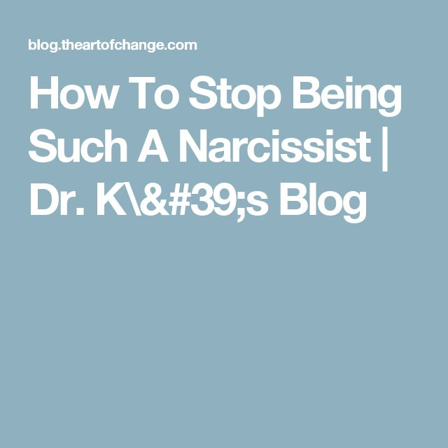 how to stop being manipulated by a narcissist