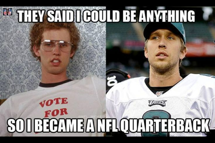 From Napoleon Dynamite to Nick Foles