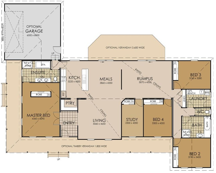 The denzel floor plan queenslander renovation ideas for Queenslander floor plans