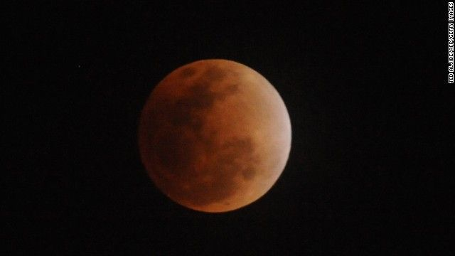 Four blood moons will occur in roughly six-month intervals on the following dates: April 15, 2014; October 8, 2014; April 4, 2015, and September 28, 2015.