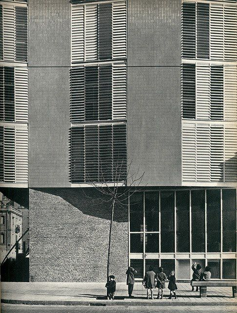 1000 images about tectonics facade on pinterest - Josep antoni coderch ...