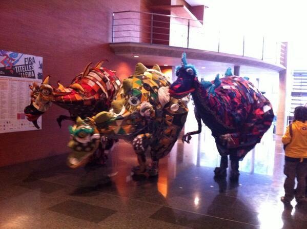 Lleida Puppet Theatre Festival 2014 - Photo by @teatrescorxador