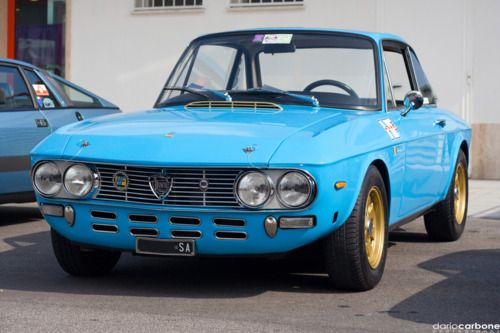 Classic Lancia Fulvia. Look out for the blog on this great car here; http://www.in2motorsports.com/category/blogs/