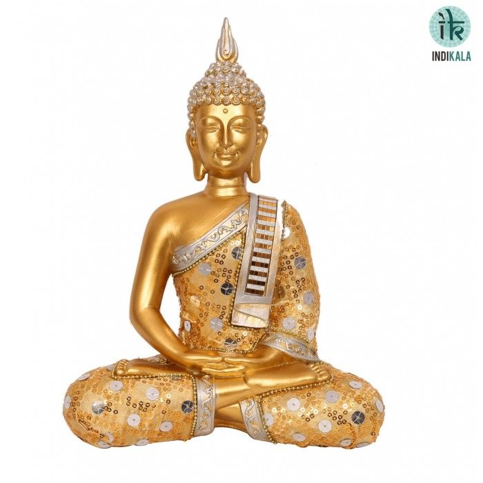 Name : Buddha in Meditation Price : Rs 1,699 Buy Now at : http://www.indikala.com/featured-products/buddha-in-meditation.html   #Buddha #Figurines #BuyOnline