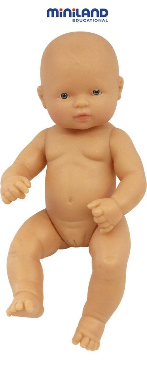 Miniland Anatomically Correct Baby Doll 32 Caucasian Girl | Buy online at The Nile