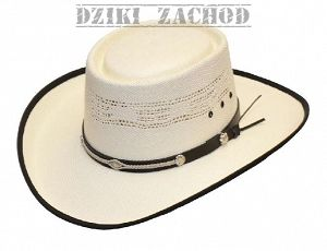 kapelusz kowbojski GAMBLER straw