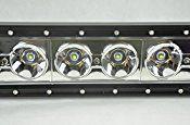 MICTUNING 37″ 160W CREE LED Lights Bar Combo Flood/ Spot Beam- 10W BIG CREE LED High Quality 4×4 Off Road Boat Driving headlights -Jeep Polaris Razor ATV SUV UTV Car Truck