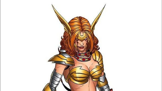 When the former Spawn character Angela makes her debut in Marvel's Age of Ultron #10, she'll be sporting a new look, courtesy of Marvel Chief Creative Officer Joe Quesada. But don't you worry; she'll be staying true to her busty angelic bounty hunter roots. Check out her redsign here..