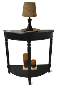 Convenience Concepts French Country Entryway Table in Black