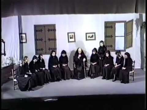 obra de teatro completa  La casa de Bernarda Alba de Federico García Lorca