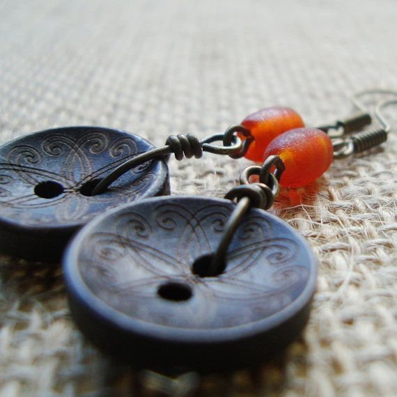 I am planning to make some button earrings for birthday presents. Such a cool idea!!