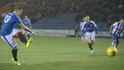 """Martyn Waghorn: Rangers forward faces """"a number of weeks"""" out"""