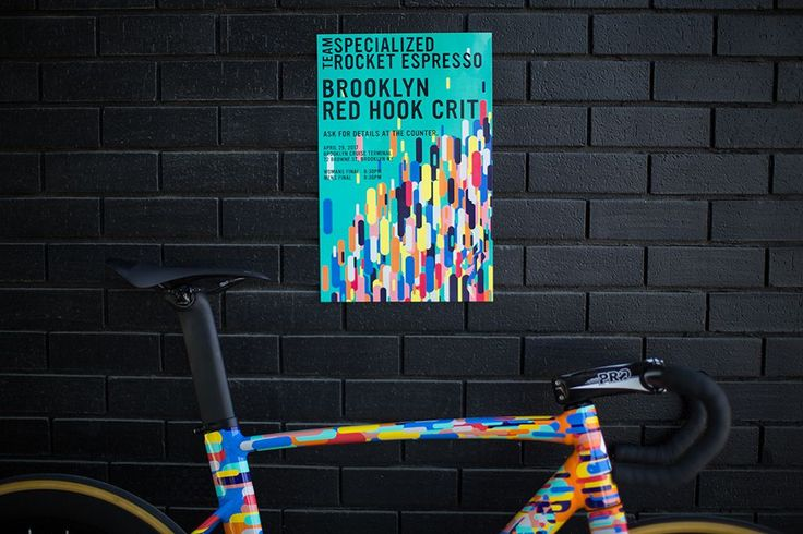 Specialized Brings the Party to Red Hook With Custom Allez Sprint Track Bikes http://www.bicycling.com/bikes-gear/news/specialized-brings-the-party-to-red-hook-with-custom-allez-sprint-track-bikes/slide/4