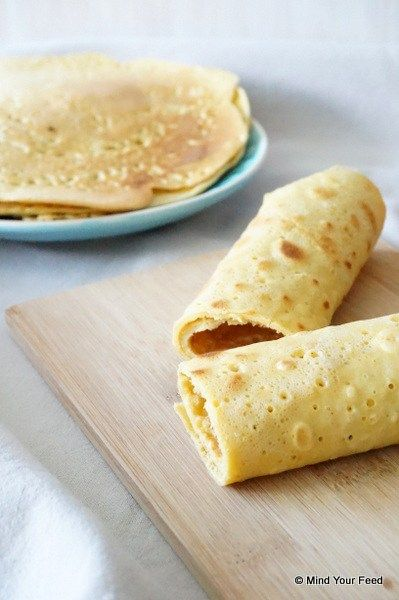 Wraps, of pannenkoeken, hoe je ze ook wilt noemen, ze zijn veruit mijn favoriet bij de lunch! Goed vullend, makkelijk klaar te maken, ook handig om mee te nemen en je kunt er eindeloos mee variëren. O