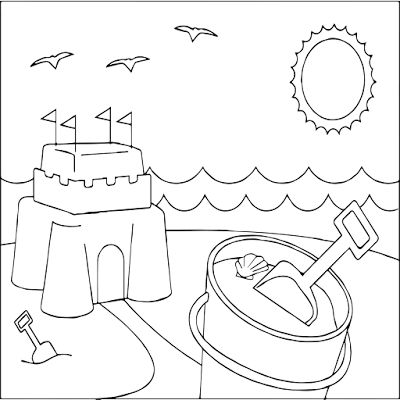 summer coloring pages free printable for kids  summer