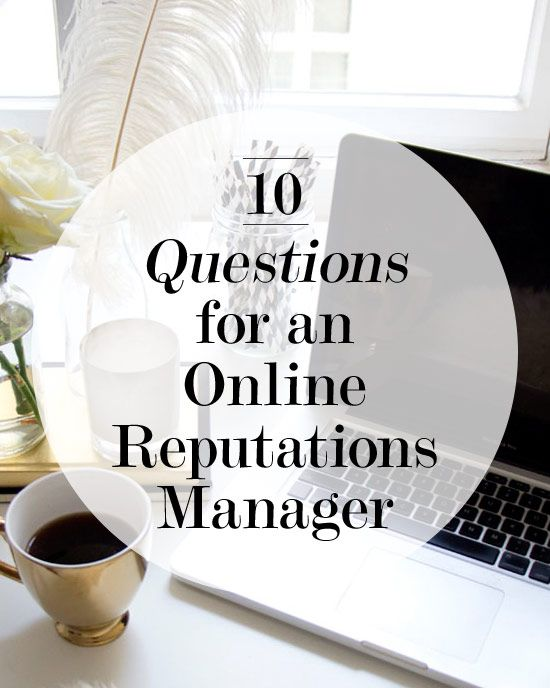 10 Questions for an Online Reputations Manager | Levo League http://www.enlightenmentmedia.com/web-design-development.html