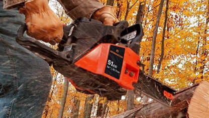Remington RM5118R Rodeo   Powerful, Reliable & Cheap Gas Chainsaw