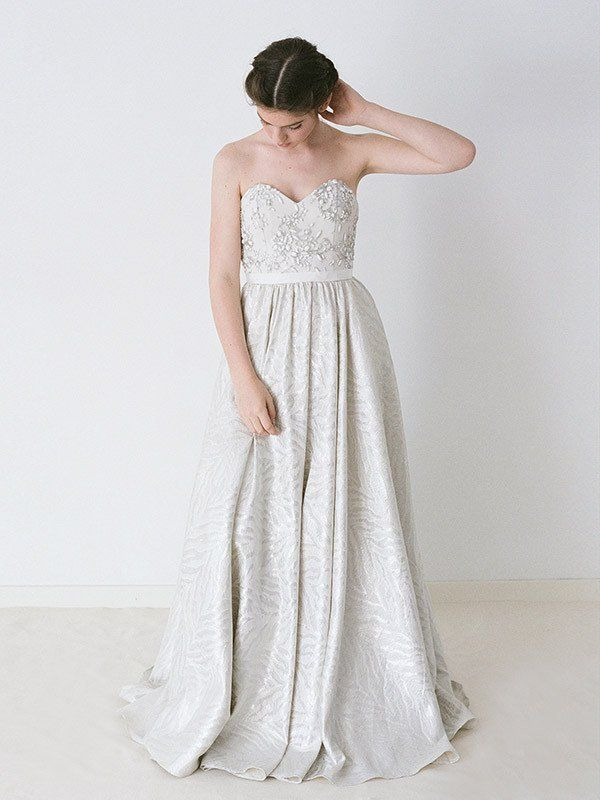 The 32 best Truvelle Wedding Gowns images on Pinterest | Short ...