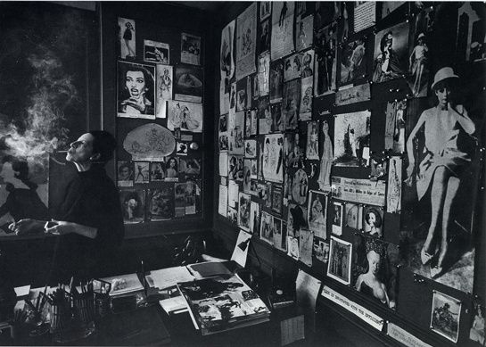 Diana Vreeland dans son bureau, 1965