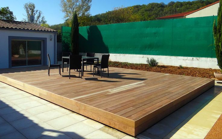 17 best images about nos terrasses mobiles on pinterest coeur d 39 alene pools and interiors for Couverture pour terrasse