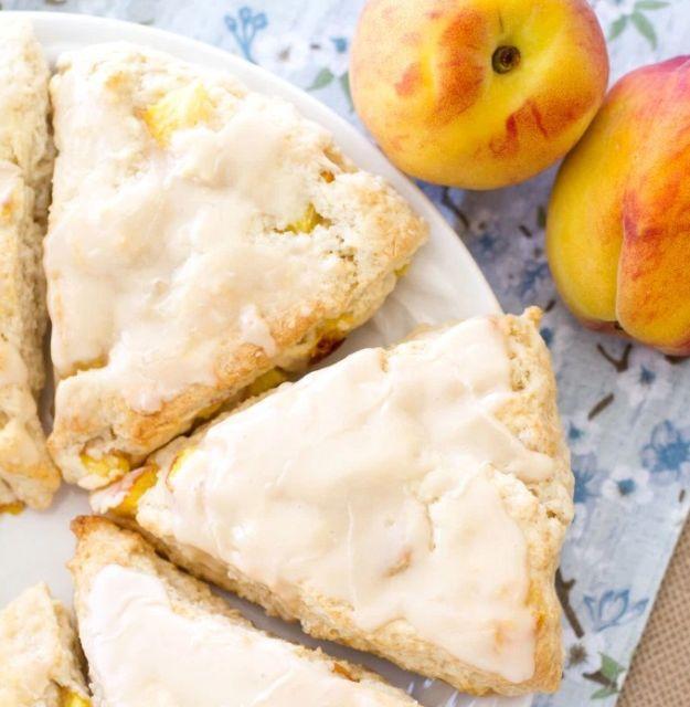 peach scones recipe