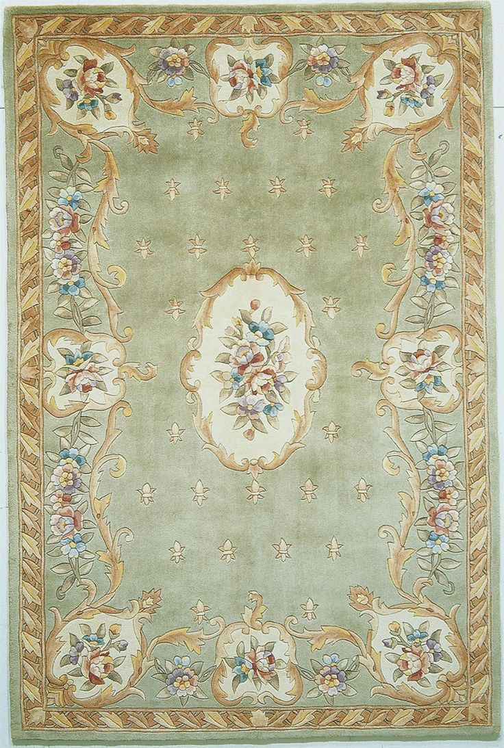 Ruby Sage Fleur De Lis Aubusson Area Rug Colors Primary