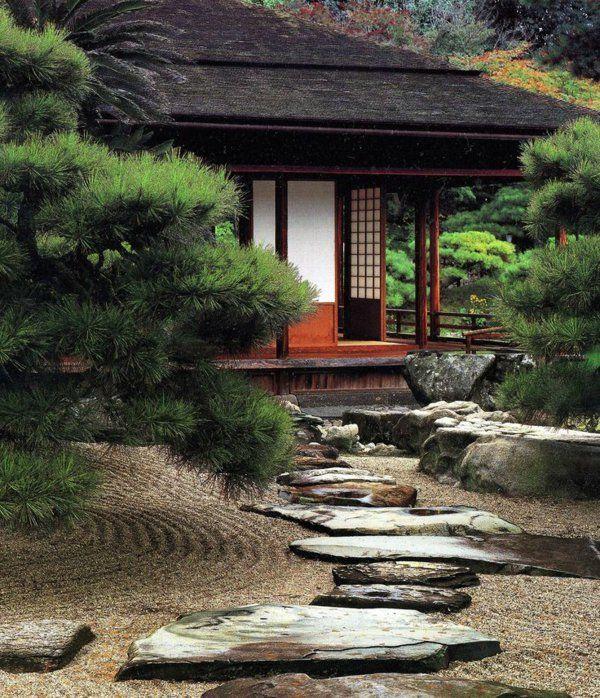 les 25 meilleures id es de la cat gorie maison japonaise. Black Bedroom Furniture Sets. Home Design Ideas