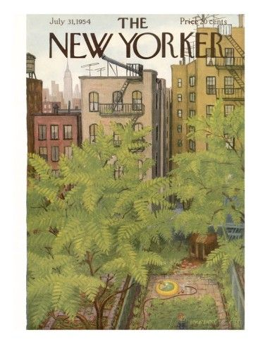 The New Yorker Cover - July 31, 1954 Regular Giclee Print by Edna Eicke at AllPosters.com