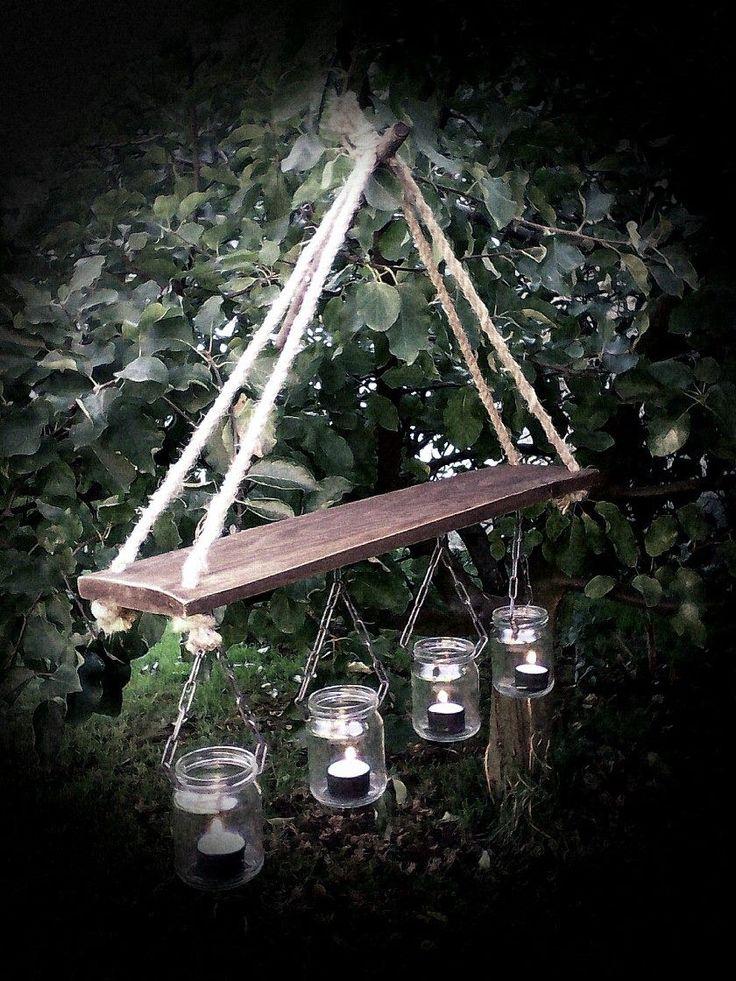 Mason Jar Chandelier - DIY (by Shanty2Chick)
