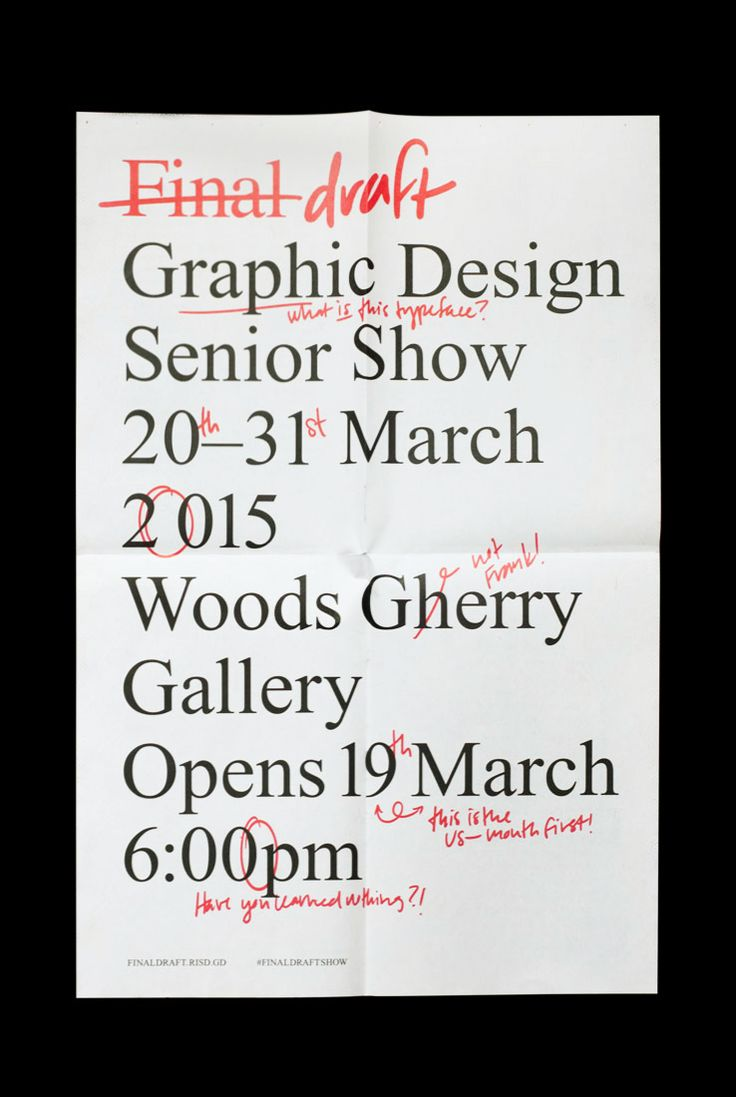 Poster design jpg - Garadinervi Rachel Ossip Copywriting Chloe Scheffe Handwriting Throughout Stephanie Low Final Draft Graphic Design Senior Show At Risd S