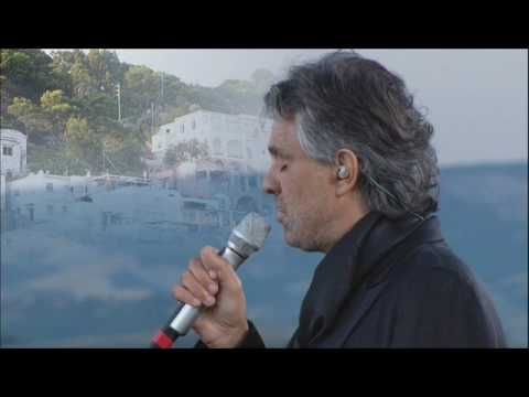 Andrea Bocelli - Santa Lucia  One of our great singers...
