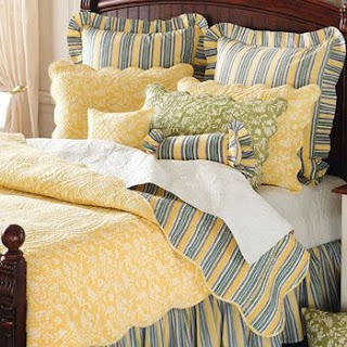 Blue Bed Linen French Country Bedding And Country Bedding