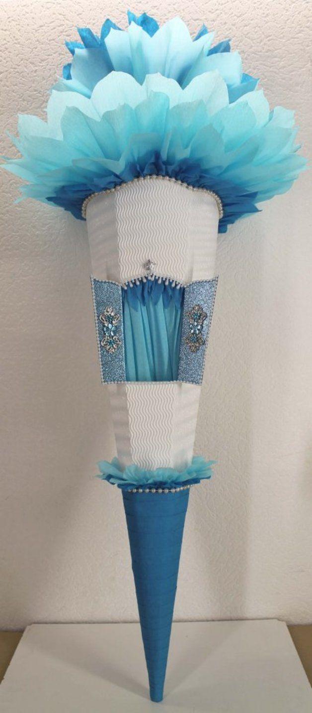 Schultüten - Schultüte-Rohling EISKÖNIGIN zum selbst verzieren - ein Designerstück von traumschultueten bei DaWanda