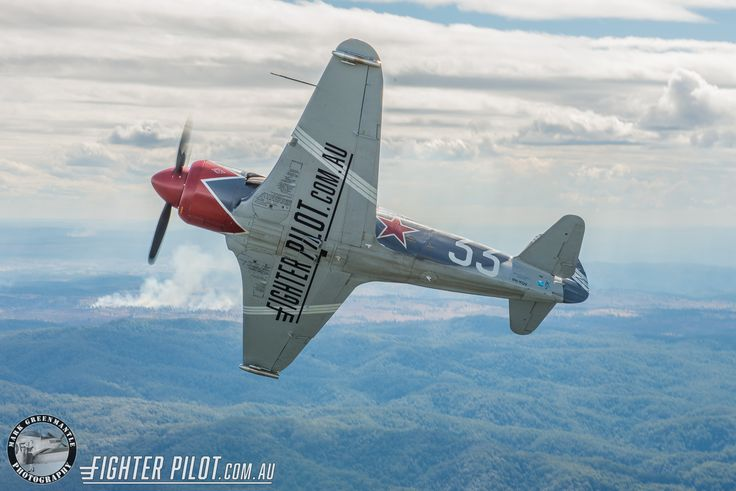 Fighter Pilot Yak-3 Steadfast. Photography by Mark Greenmantle.