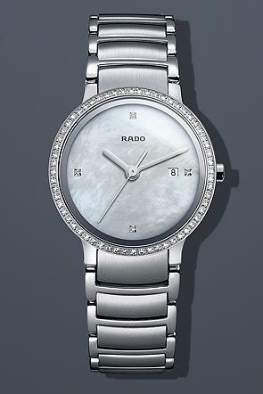 Rado Centrix Super Jubile Steel Pearl Mini Watch