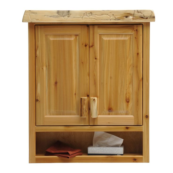 Shop Fireside Lodge Furniture  33911 Cedar Toilet Topper Cabinet at ATG Stores. Browse our over-the-toilet storage, all with free shipping and best price guaranteed.