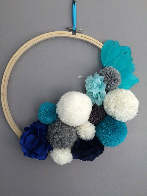 95 best pompom images on Pinterest Pom pom crafts, Pom poms and DIY - tapeten für küchen