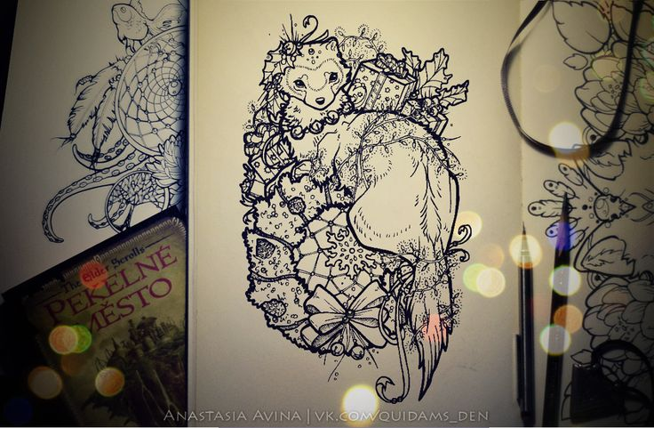 Anastasia Avina | Artist, tattoo's sketch-master, also I make prints and illustrations. You can find me here: quidames.devianta... | quidam-s-den.tumb... My website | vk.com/quidams_den
