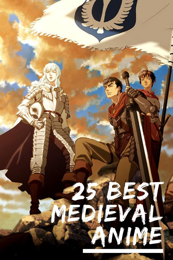 The 25 Best Medieval Anime Anime, Medieval, Anime characters