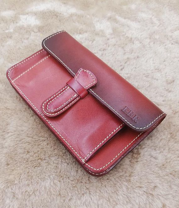 Leather Wrist Clutch, Leather Wrist Bag, Wristlet Wallet, Clutch Bag, Evening Clutch, Womens Clutch Bag, Iphone Wallet, Gift
