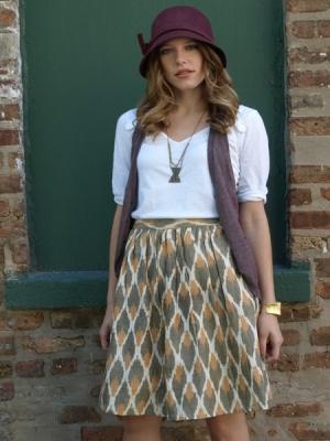 skirt: Full Skirts, Trader Rendezv, Skirts Creme, Mata Trader, Rendezvous Skirts, Ikat Skirts, Rendezv Skirts, Shops Fair, Fair Trade