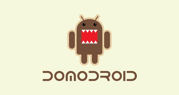 Logo #android   Domo / Spion   #Geek #Logo #BugDroid